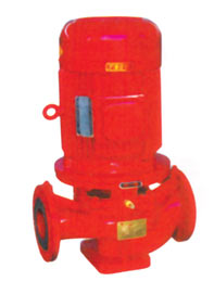 XBD series single-stage vertical fire water pump